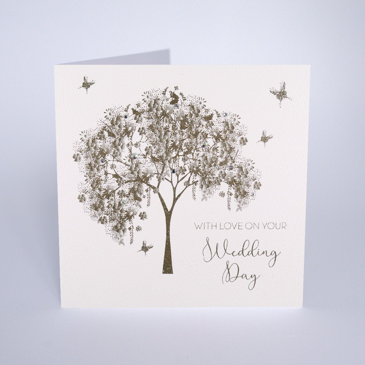 The Secret Garden With Love on Your Wedding Day Card