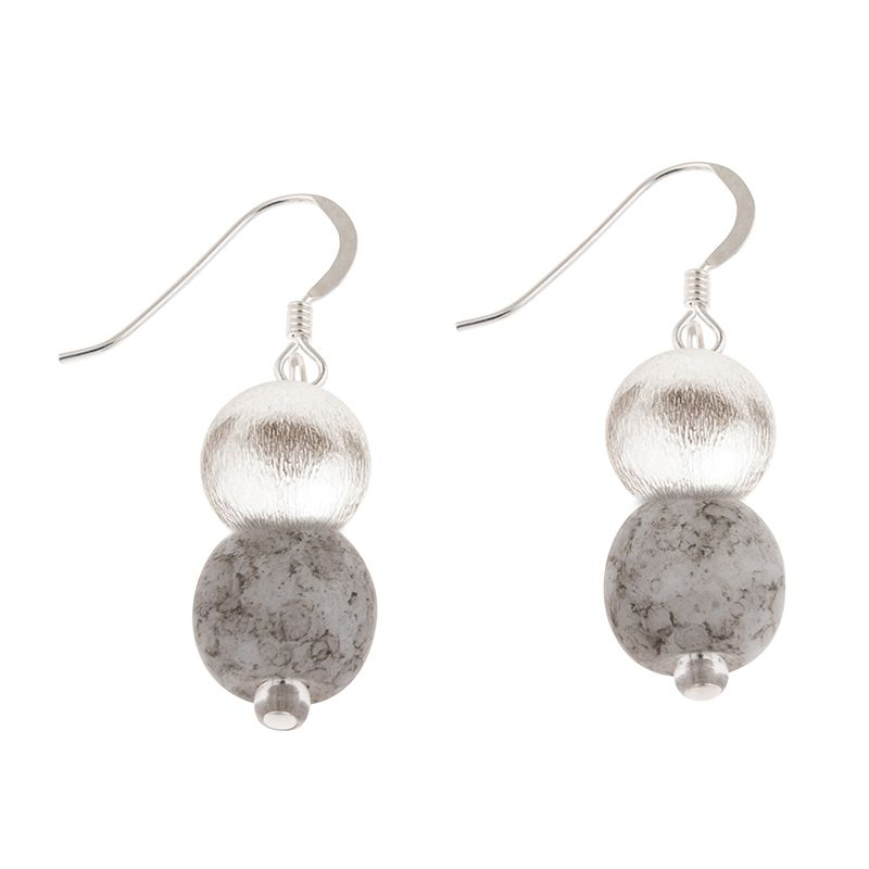 Carrie Elspeth Cloud Mottles Earrings | More Than Just A Gift