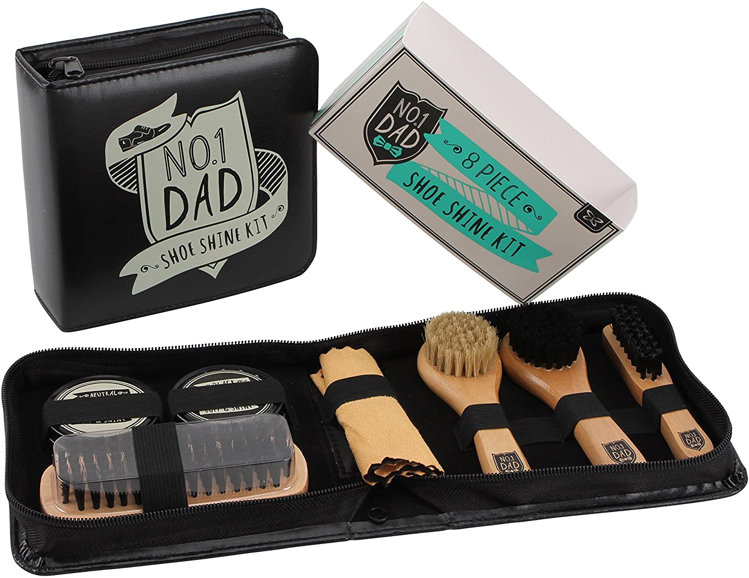 No.1 Dad Shoe Shine Kit