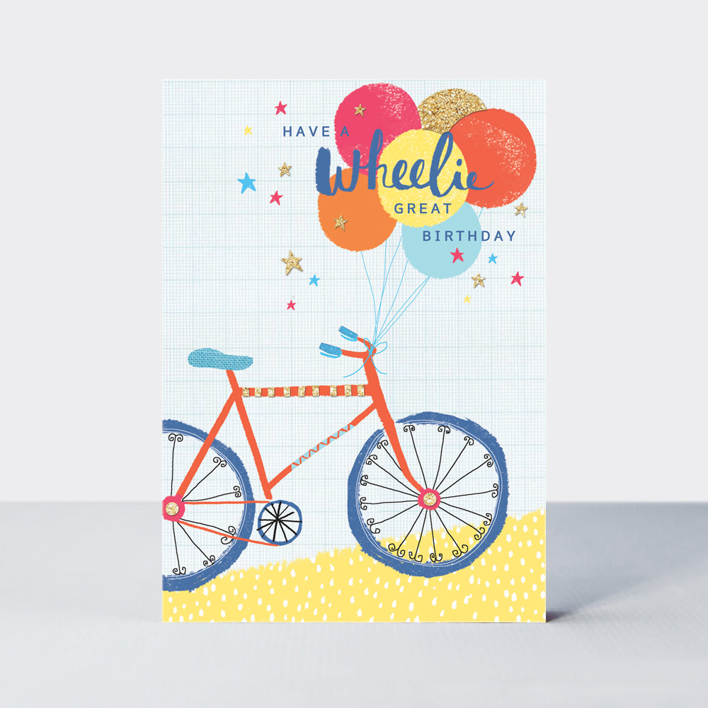 Admiral Wheelie Great Birthday Card