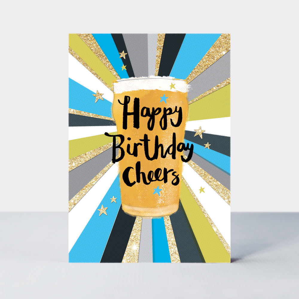 Admiral Cheers Birthday Pint Card