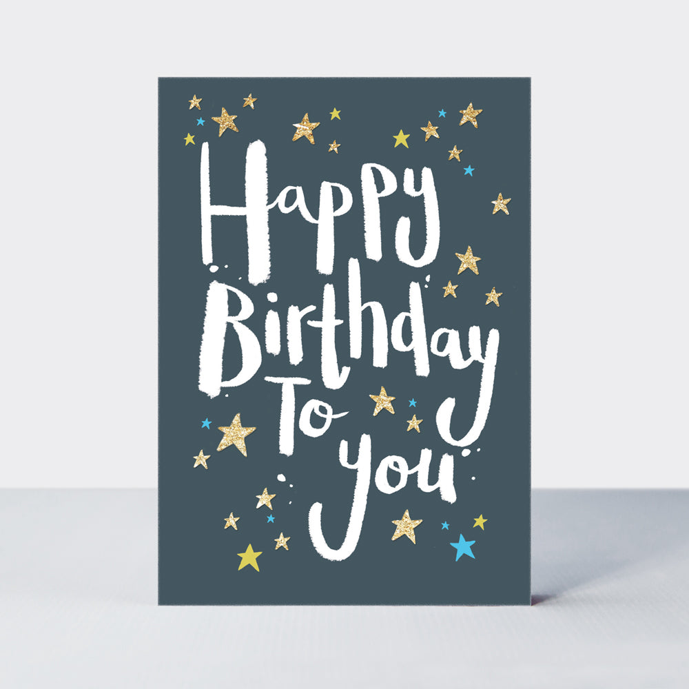 Admiral Happy Birthday to You Card