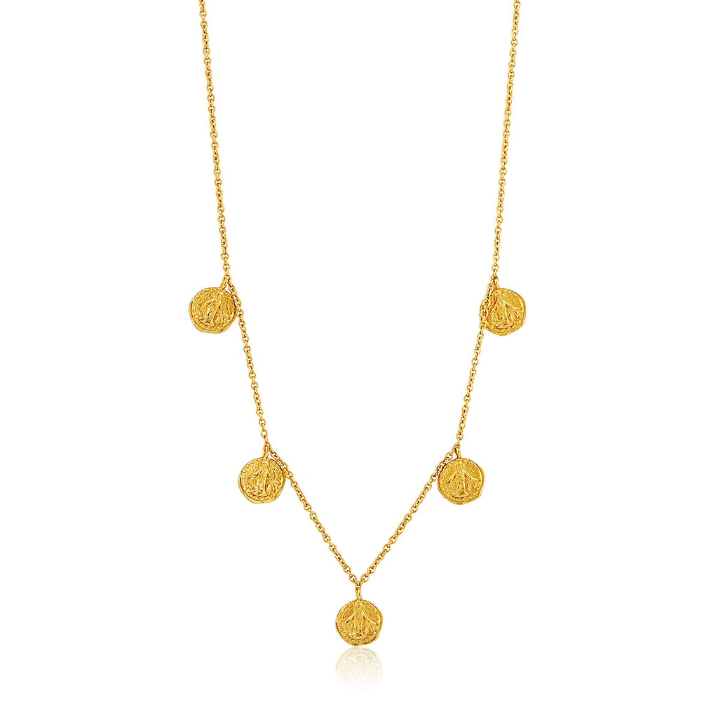 Ania Haie Gold Deus Necklace | More Than Just at Gift | Narborough Hall