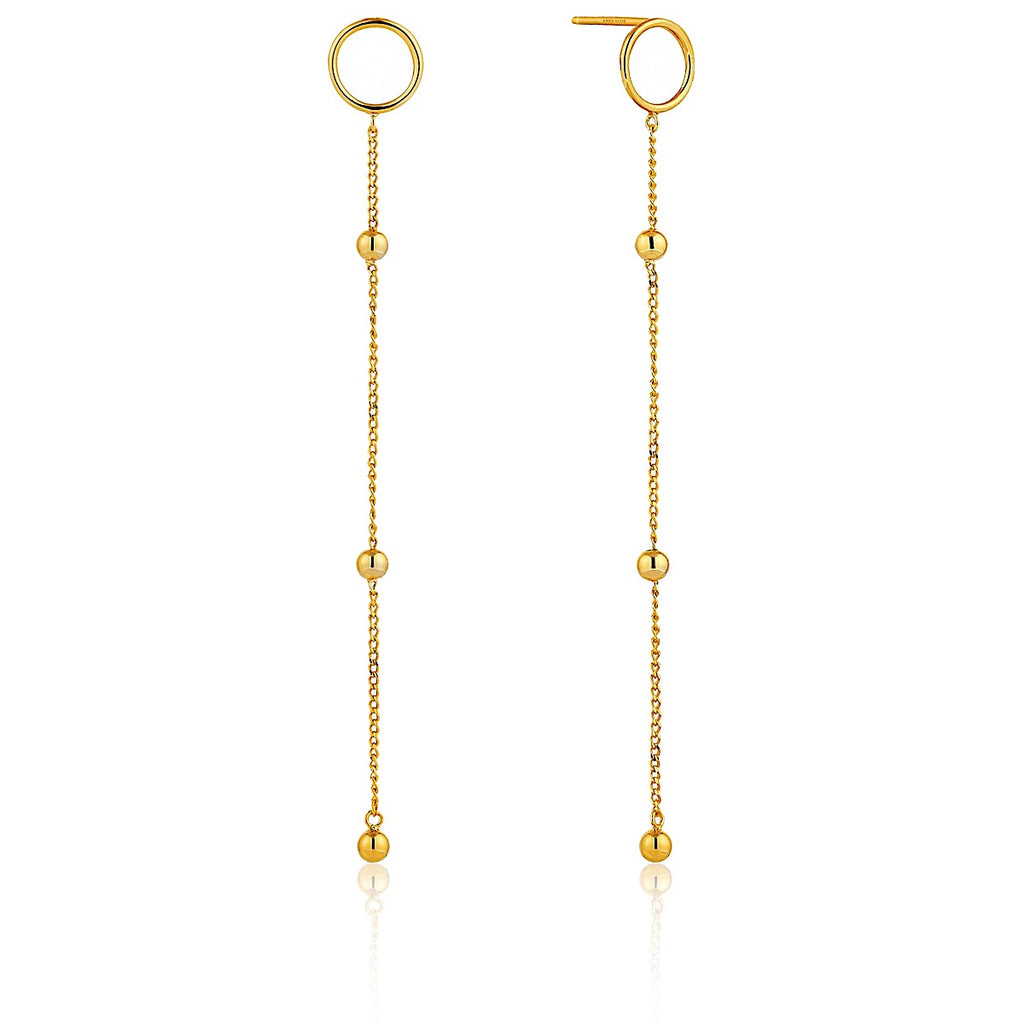 Ania Haie Gold Modern Beaded Drop Earrings | More Than Just at Gift | Narborough Hall