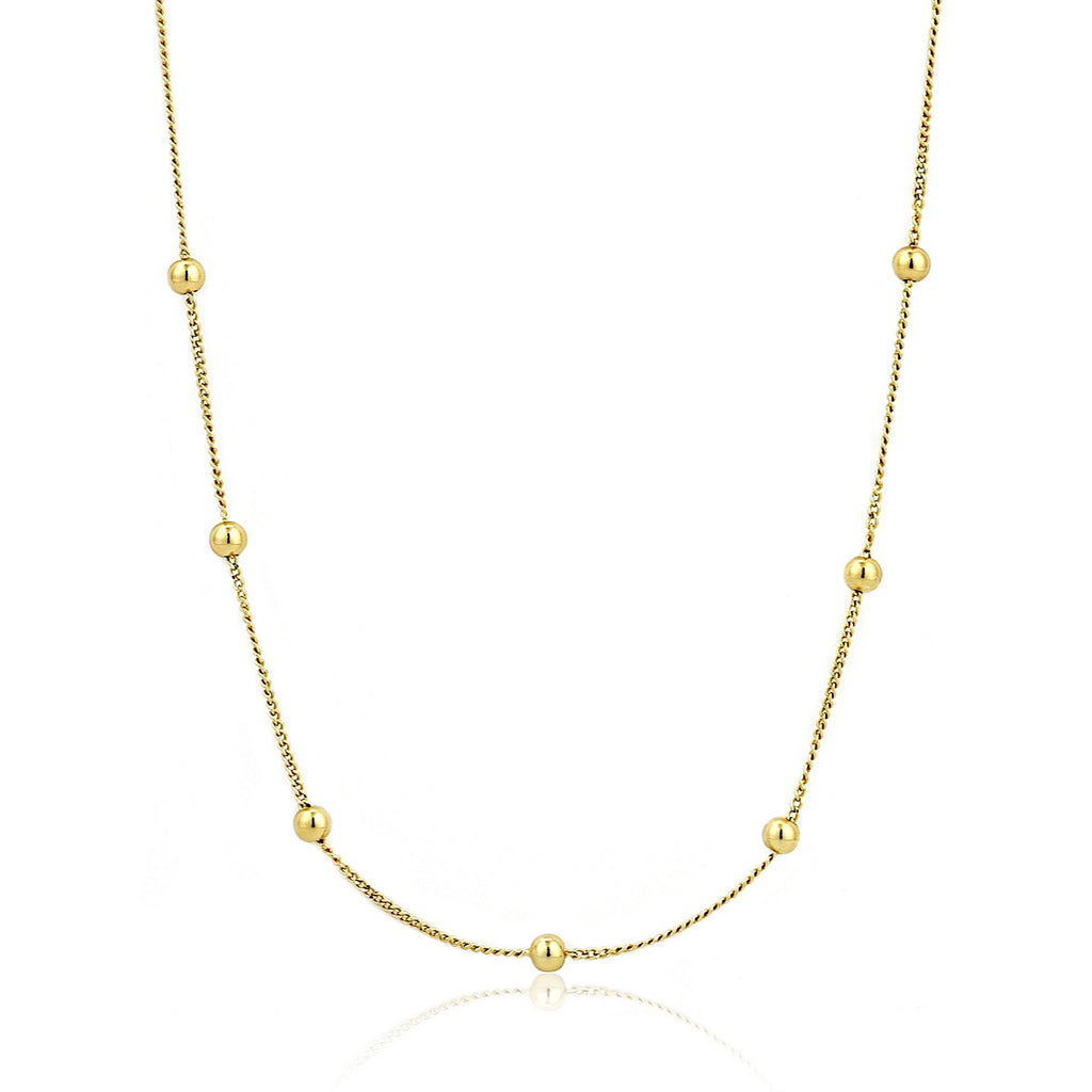 Ania Haie Gold Modern Beaded Necklace - More Than Just a Gift