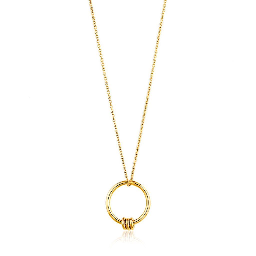 Ania Haie Gold Modern Circle Necklace | More Than Just at Gift | Narborough Hall