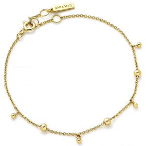 Ania Haie Gold Modern Drop Balls Bracelet | More Than Just at Gift | Narborough Hall