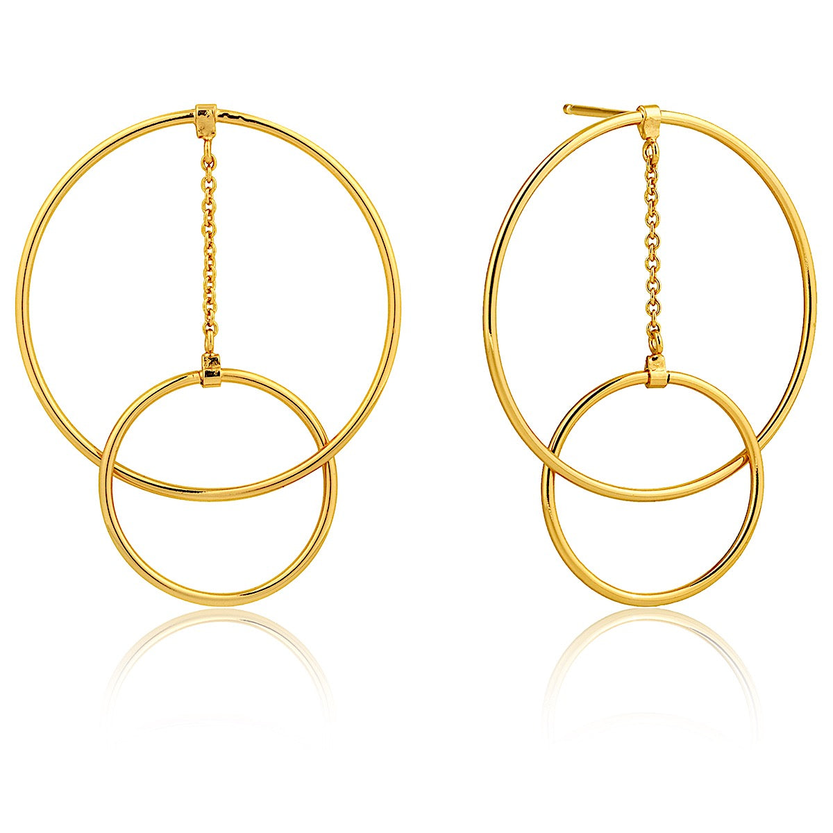 Ania Haie Gold Modern Front Earrings | More Than Just at Gift | Narborough Hall
