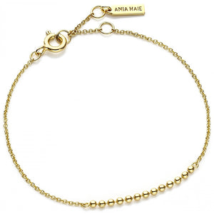 Ania Haie Gold Modern Multiple Balls Bracelet | More Than Just at Gift | Narborough Hall