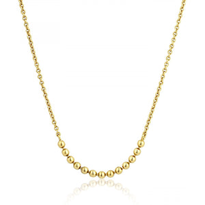 Ania Haie Gold Modern Multiple Balls Necklace | More Than Just at Gift | Narborough Hall
