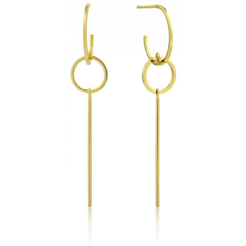 Ania Haie Gold Modern Solid Drop Earrings | More Than Just at Gift | Narborough Hall