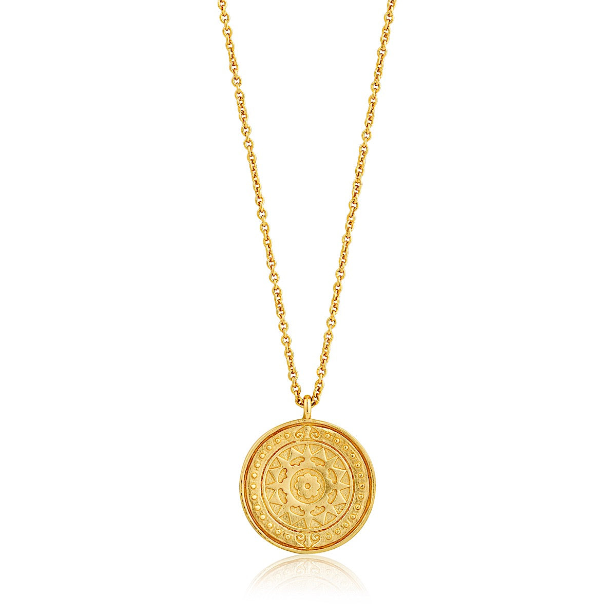 Ania Haie Gold Verginia Sun Necklace | More Than Just at Gift | Narborough Hall