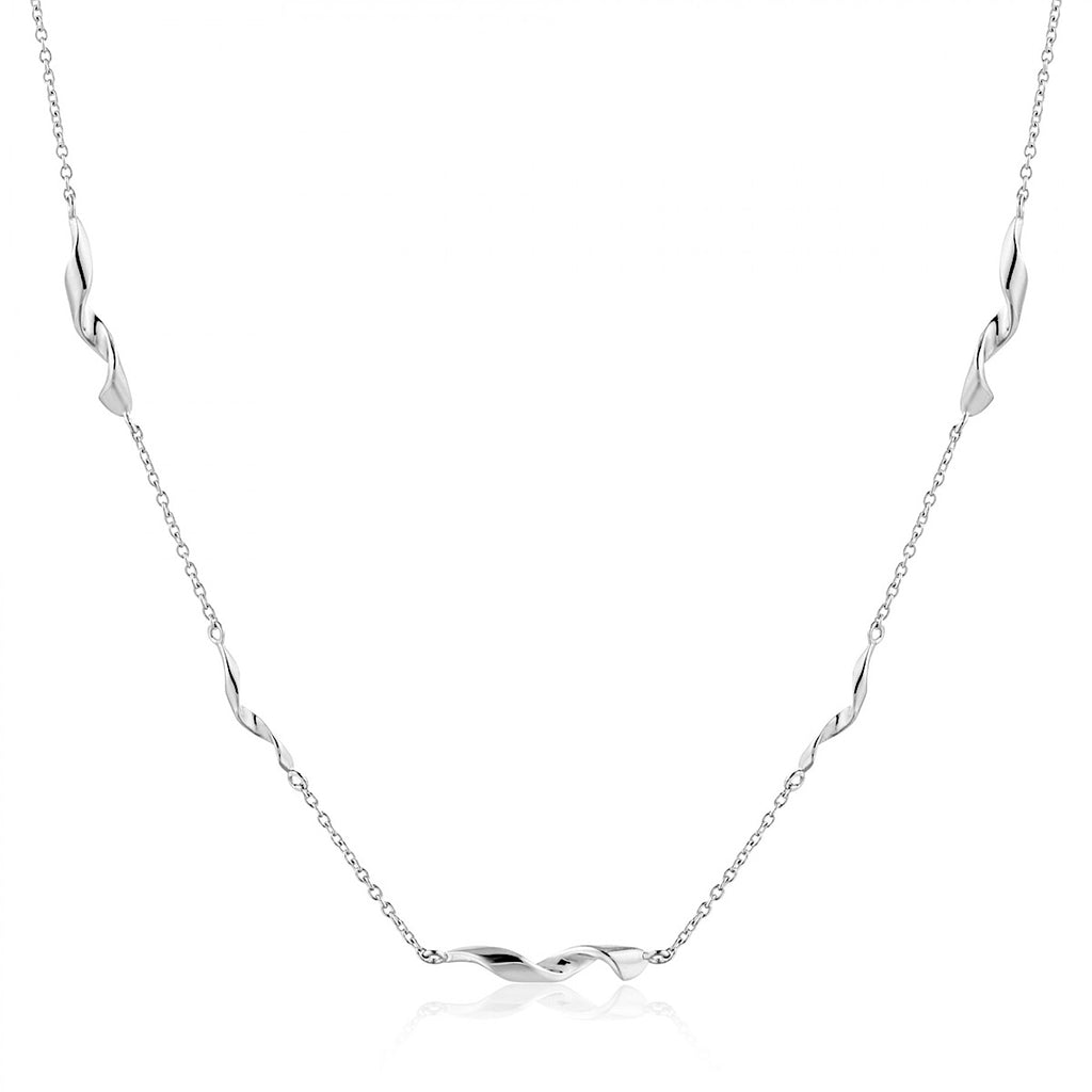 Ania Haie Silver Helix Necklace