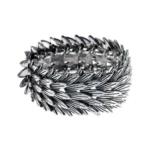 Antiqued Silver Feather Cuff Bracelet | More Than Just at Gift | Narborough Hall