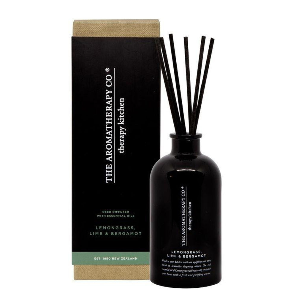The Aromatherapy Co Therapy Kitchen Lemongrass Lime & Bergamot Diffuser