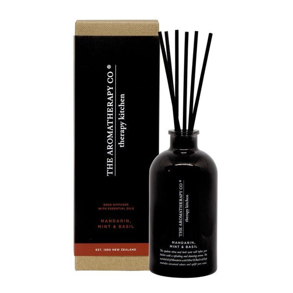 The Aromatherapy Co Therapy Kitchen Mandarin Mint & Basil Diffuser