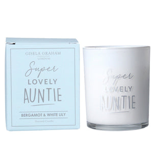 Auntie Mini Scented Boxed Candle Pot