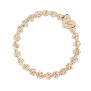 Gold/Heart Bangle Band