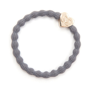 Storm Grey/Heart Bangle Band