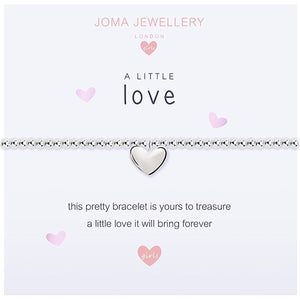 Joma Girls a little Love Bracelet - heart