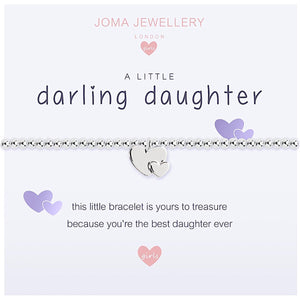 Joma Girls a little Darling Daughter Bracelet - heart