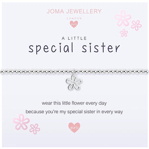 Joma Girls a little Special Sister Bracelet - star