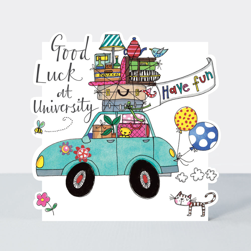 Good Luck at Uni Rachel Ellen Card