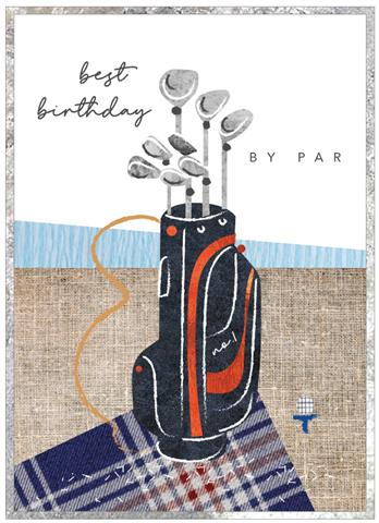 Cobalt - Best Birthday by Par Card