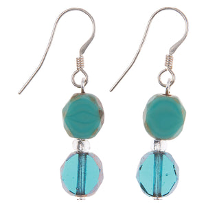 Carrie Elspeth Bohemian Ocean Earrings