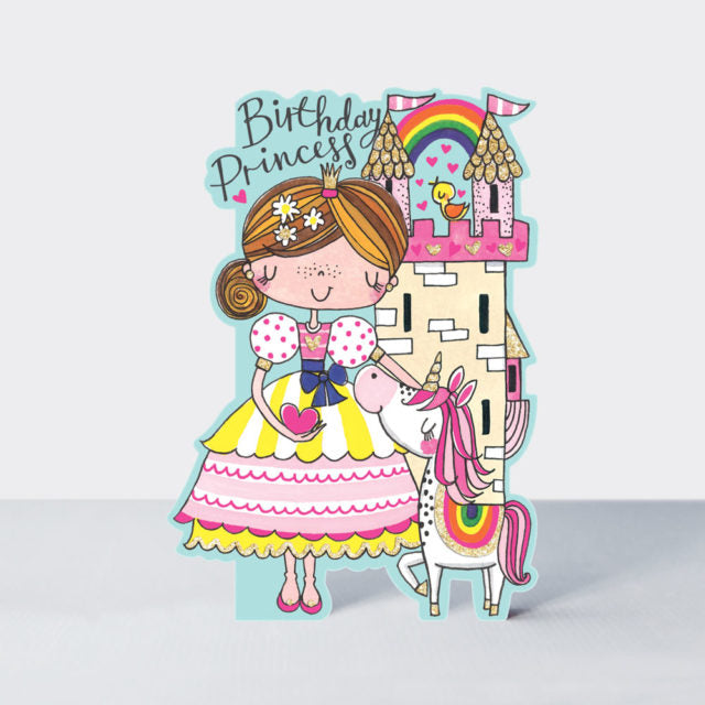 Birthday Princess Unicorn Card