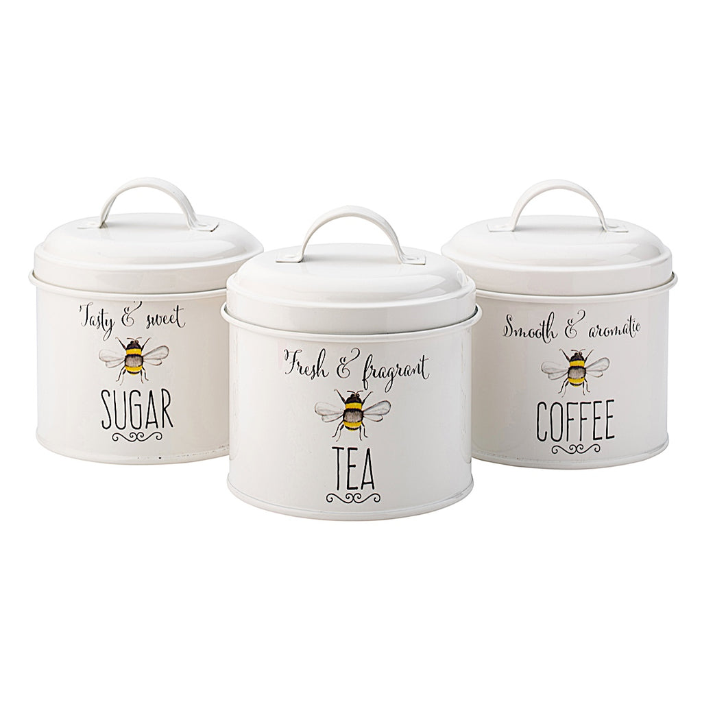 Bee Happy Storage Tin Set
