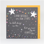 Electric Dreams - Good Friends are like Stars Card