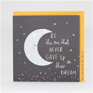 Electric Dreams - Never Gave up on Their Dream Card