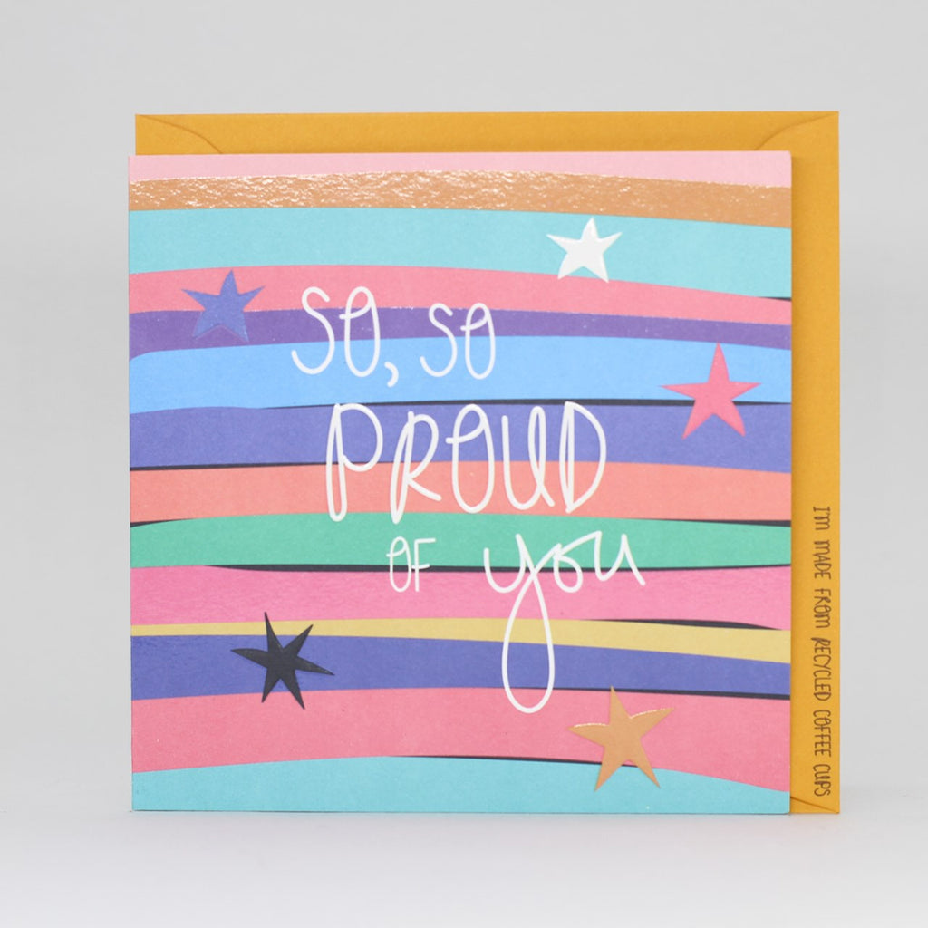 Electric Dreams - So So Proud of You Card