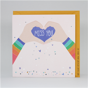 Electric Dreams Miss You Card