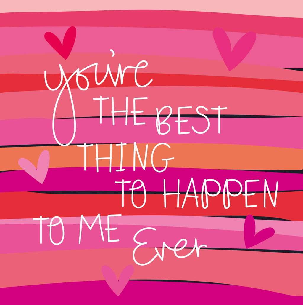Electric Dreams - Youre The Best Thing To Happen To Me Ever Card