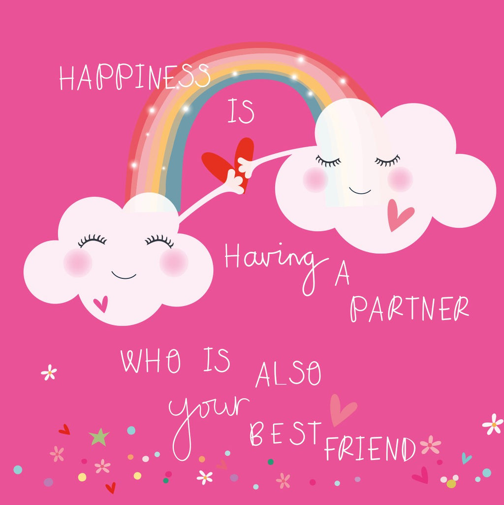 Electric Dreams - Partner & Best Friend Card