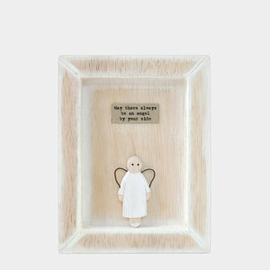 East of India Angel By Your Side Wooden Picture