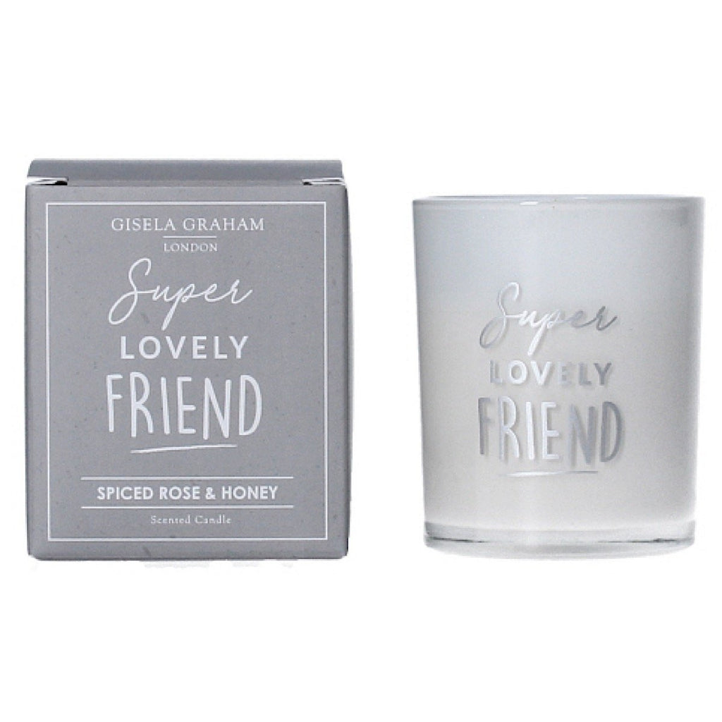 Friend Mini Scented Boxed Candle Pot