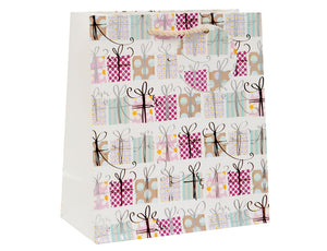 Multi Presents Medium Gift Bag