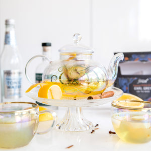 Root 7 'G & Tea' Gin Cocktail Teapot and Cups Set