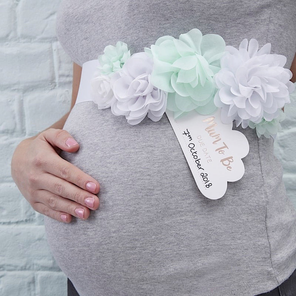 Hello World Mum to Be Sash | More Than Just at Gift | Narborough Hall