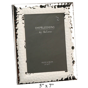 Impressions Shiny Hammered Finish Photo Frame 5 by 7 | More Than Just at Gift | Narborough Hall