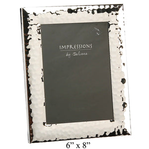 Impressions Shiny Hammered Photo Frame 6 by 8 - Narborough Hall