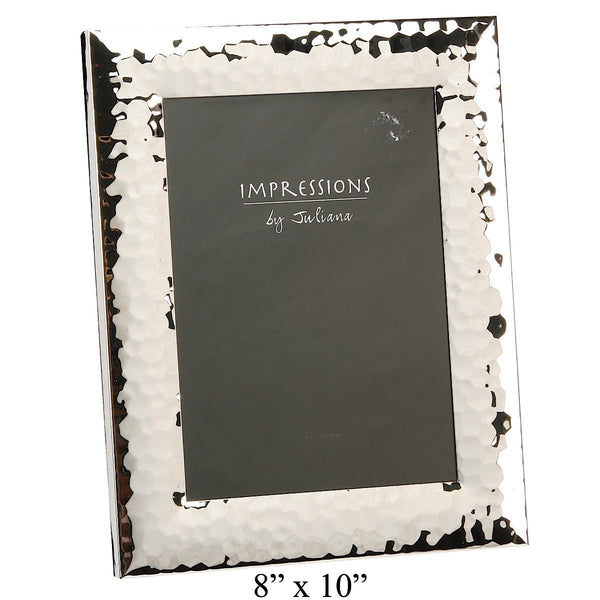 Impressions Shiny Hammered Photo Frame 8 by 10 - Narborough Hall