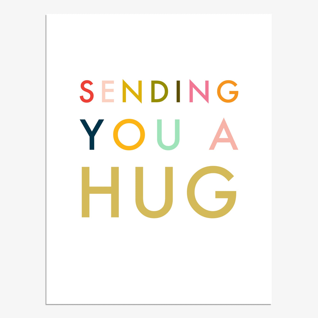 Sending You A Hug Card
