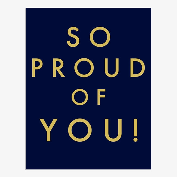 Jot So Proud of You Card | More Than Just A Gift