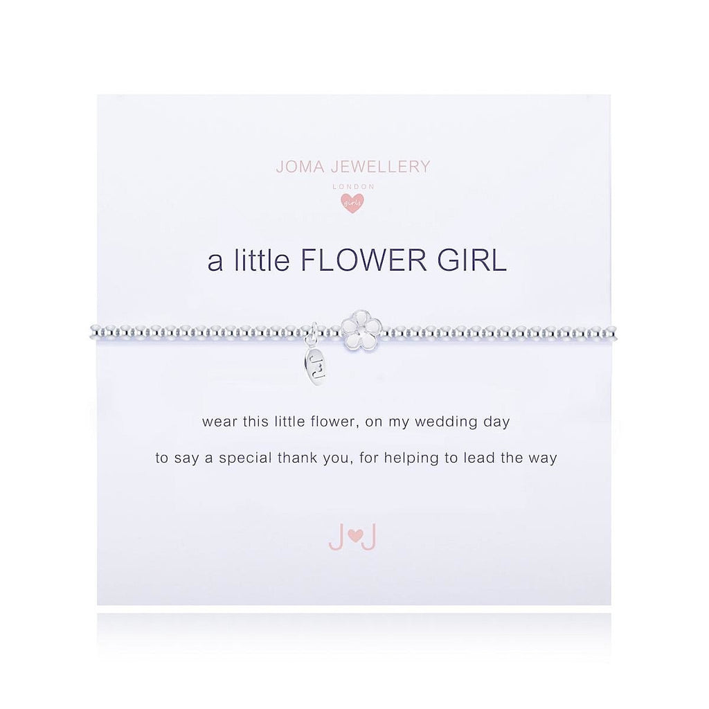 Joma Girls a little Flower Girl Bracelet - More Than Just a Gift