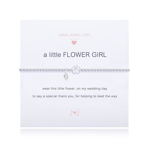 Joma Girls 'a little FLOWER GIRL' - bracelet - Narborough Hall