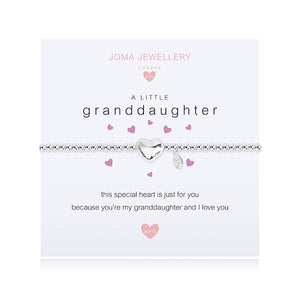 Joma Girls a little Granddaughter Bracelet - More Than Just a Gift